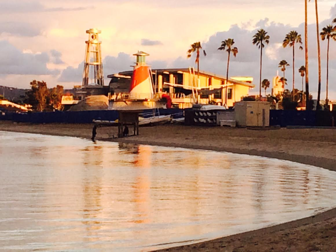 Marina Park at the end of our Beach!!